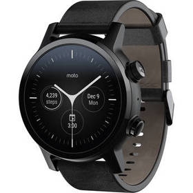 Moto 360 Smartwatch with Wear OS (Gen 3, Phantom B