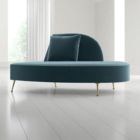 Crate Barrel Bellevue Right Arm Chaise