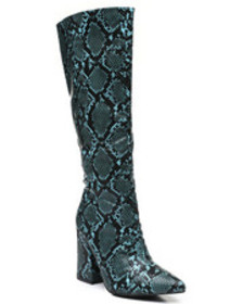 Fashion Lab slip-on knee length boots