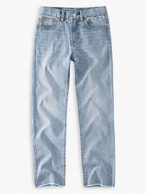 Levi's High Rise Ankle Straight Big Girls Jeans 7-