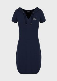 Armani Jersey dress with shoulder logo