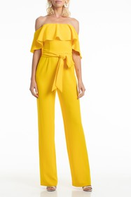 Trina Turk Guests Belted Jumpsuit