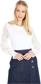 See by Chloe Patchwork Silk Top