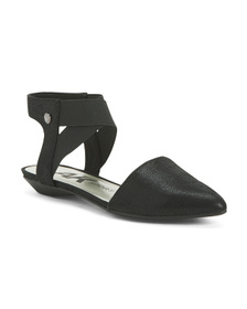 ANNE KLEIN Flat Sandals With Ankle Strap