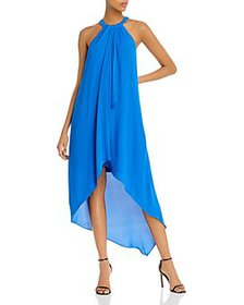BCBGMAXAZRIA - High/Low Draped Gown - 100% Exclusi