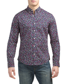 Reveal Designer Washed Button Down Shirt
