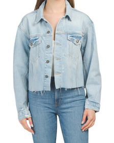 FREE PEOPLE Amelia Slouchy Trucker Jacket