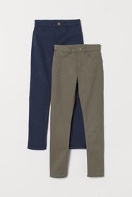 2-pack Twill Pants