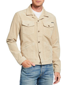 TOM FORD Men's 4-Pocket Denim Jacket