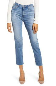 AG The Isabelle Ankle Straight Leg Jeans