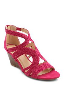XOXO Women's Sampson Wedge Sandal (Women's)