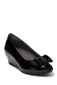 SAS Ava Leather Wedge Pump