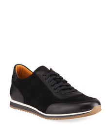 Magnanni for Neiman Marcus Men's Ronnie Mixed Leat