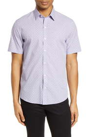 Zachary Prell Huang Classic Fit Short Sleeve Butto