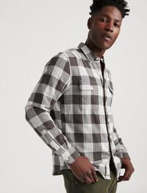 Lucky Brand Doubleweave Buffalo Check Shirt