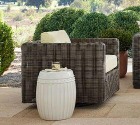Pottery Barn Huntington All-Weather Wicker Square