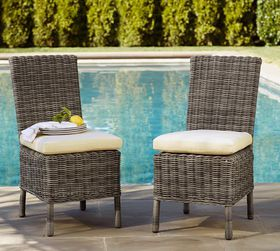 Pottery Barn Huntington All-Weather Wicker Dining