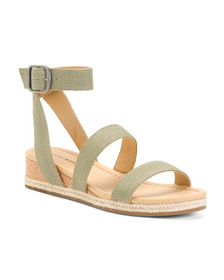 LUCKY BRAND Demi Cork Wedges