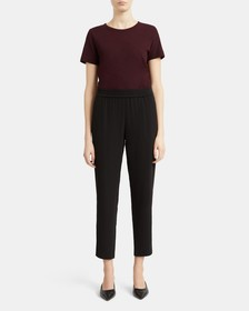 Pull-On Pant in Crepe