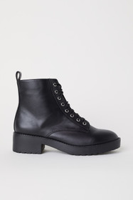 Boots with Lacing