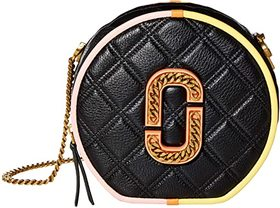 Marc Jacobs The Status Color-Blocked Round Crossbo