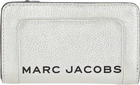 Marc Jacobs The Metallic Textured Compact Wallet