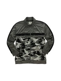 Ecko Unltd. Mens Camo Track Jacket, grey, X-Small