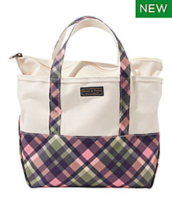 LL Bean High-Bottom Boat and Tote, Zip-Top