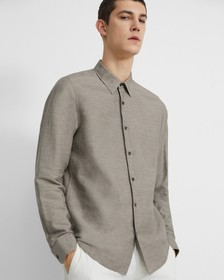 Irving Shirt in Essential Linen Twill