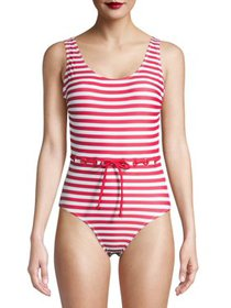 Juicy Couture Womens One-Piece Swimsuit With Eyele
