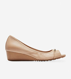 Cole Haan Emory Braided Open Toe Wedge