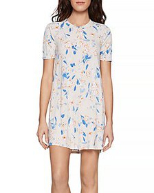 BCBGeneration - Spring Floral T-Shirt Dress