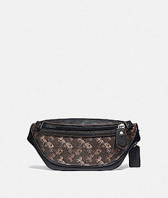 Coach rivington belt bag 7 with horse and carriage