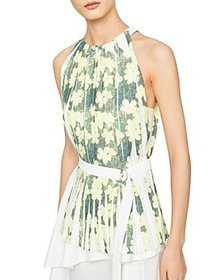 3.1 Phillip Lim - Knife Pleated Belted Top