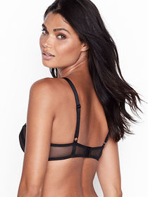 Victoria Secret Unlined Mesh Balconette Bra
