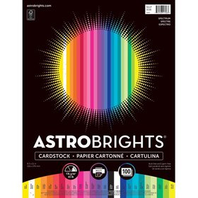 Astrobrights Colored Cardstock, 8.5? x 11?, 65 lb