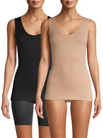 Real Comfort Lucy 2-Pack Seamless Basic Shaping Ca