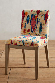 Anthropologie Medina Astract-Printed Emrys Chair