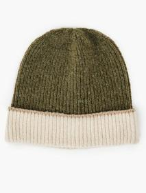 Lucky Brand Colorblocked Beanie Hat