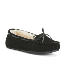 MINNETONKA Allie Junior Trapper Moccasins