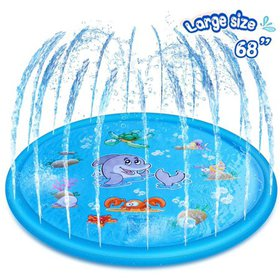 Outdoor Splash Play Mat Water Sprinkler Pad Toys