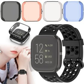 TSV Watch Screen Protector Fit for Fitbit Versa 2,