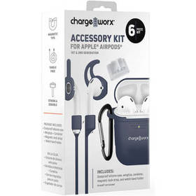 ChargeWorx 6-Piece Accessory Kit for Apple AirPods