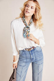 Anthropologie Lori Peasant Blouse