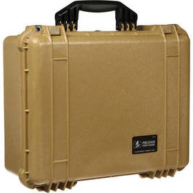 Pelican 1550NF Case without Foam (Desert Tan)
