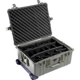 Pelican 1614 Waterproof 1610 Case with Dividers (O