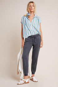 Anthropologie Cloth & Stone Utility Joggers