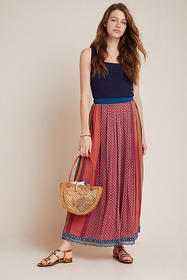Anthropologie Mara Maxi Skirt