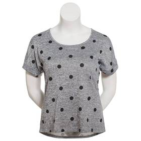 Womens Don't Stop Believing Short Sleeve Marled Do