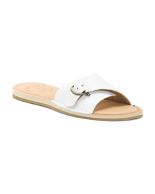 SPERRY Leather Slide Sandals